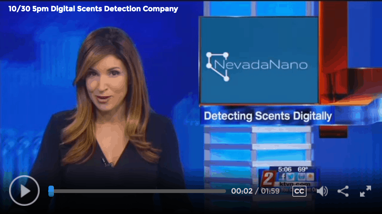 Sparks Company Develops 'Digital Scent' - by KTVN Channel 2